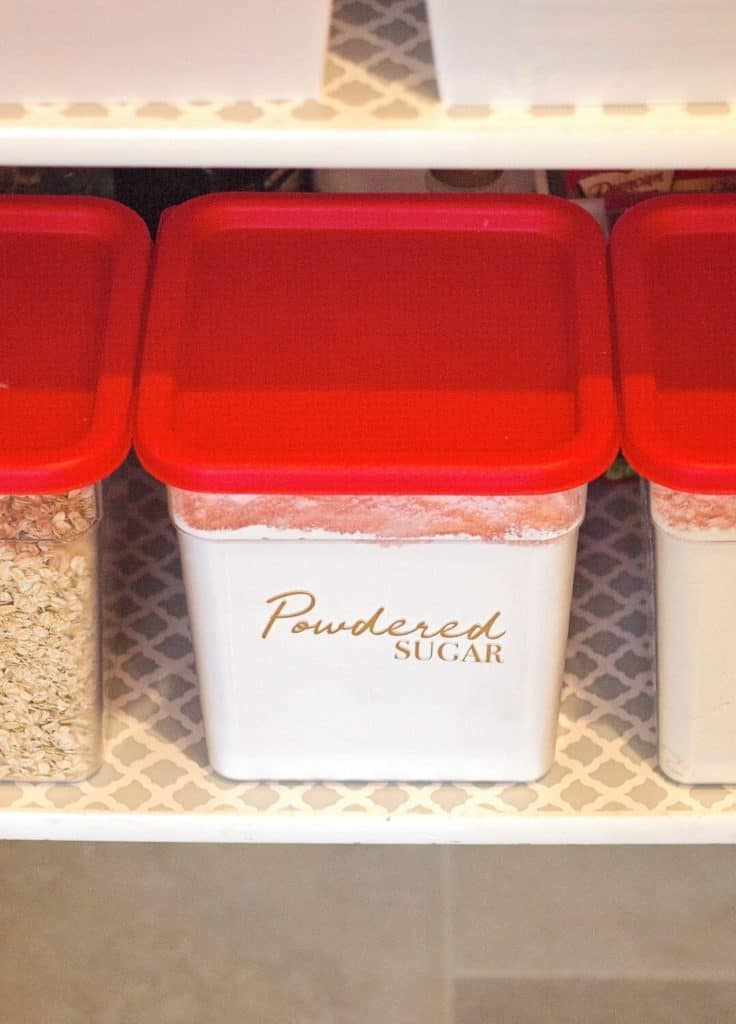 Organize Baking Supplies Supply Storage