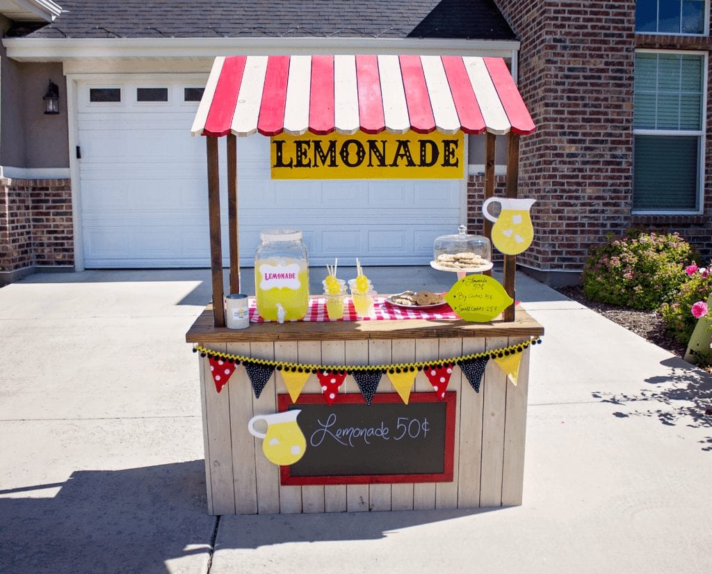 how to organize a successful lemonade stand