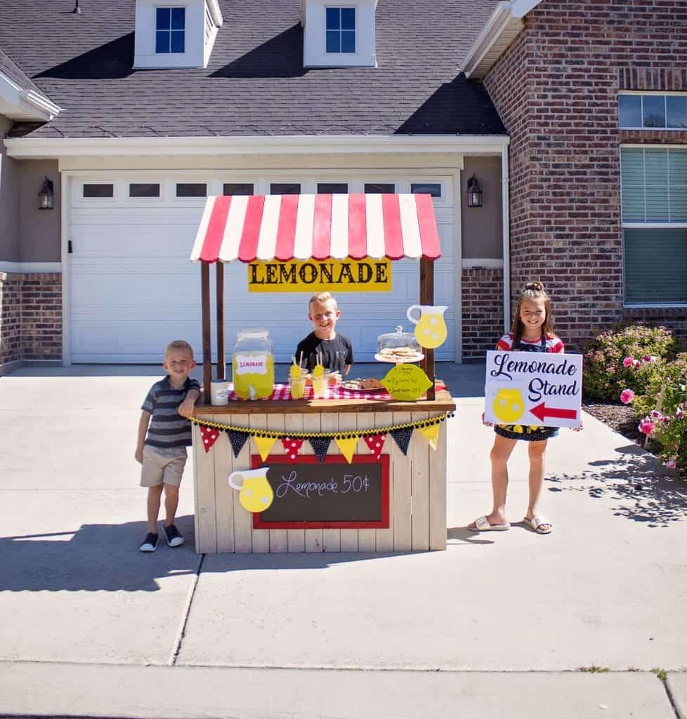 kids lemonade stand tips