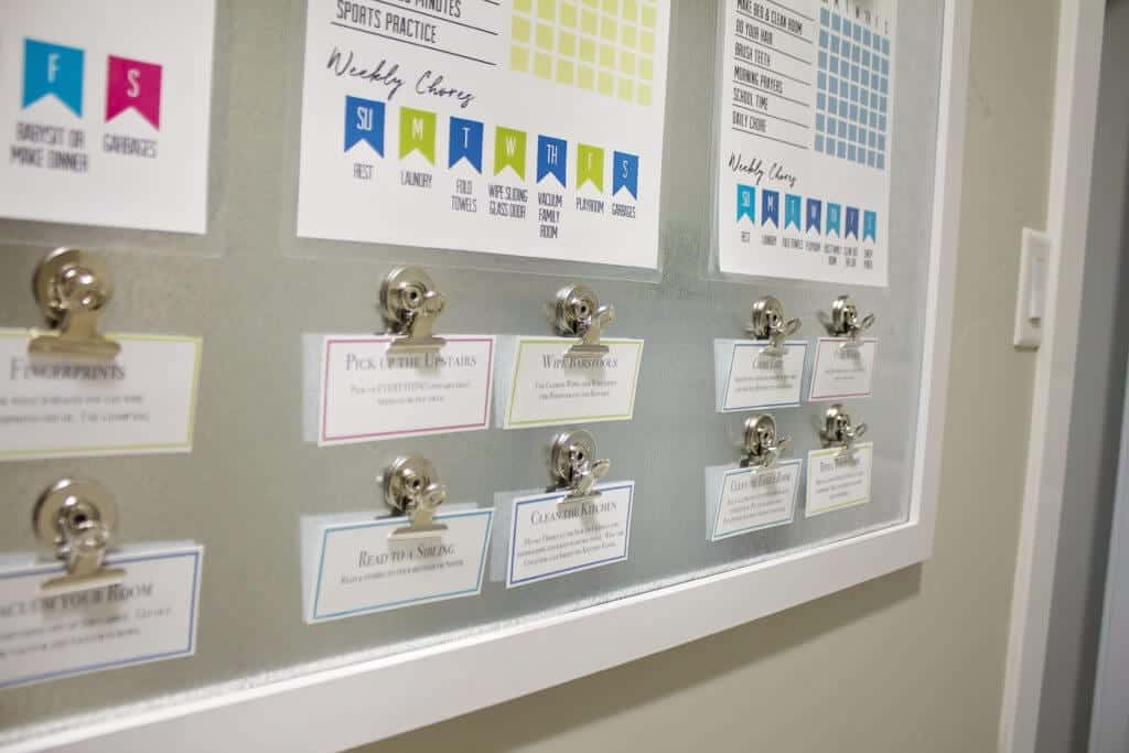 Kids Chore Chart Cards Free Printable
