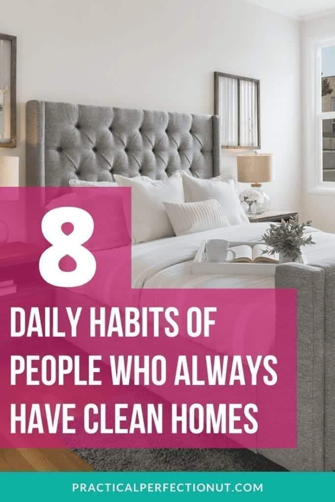 Cleaning Habits Bedroom Tips