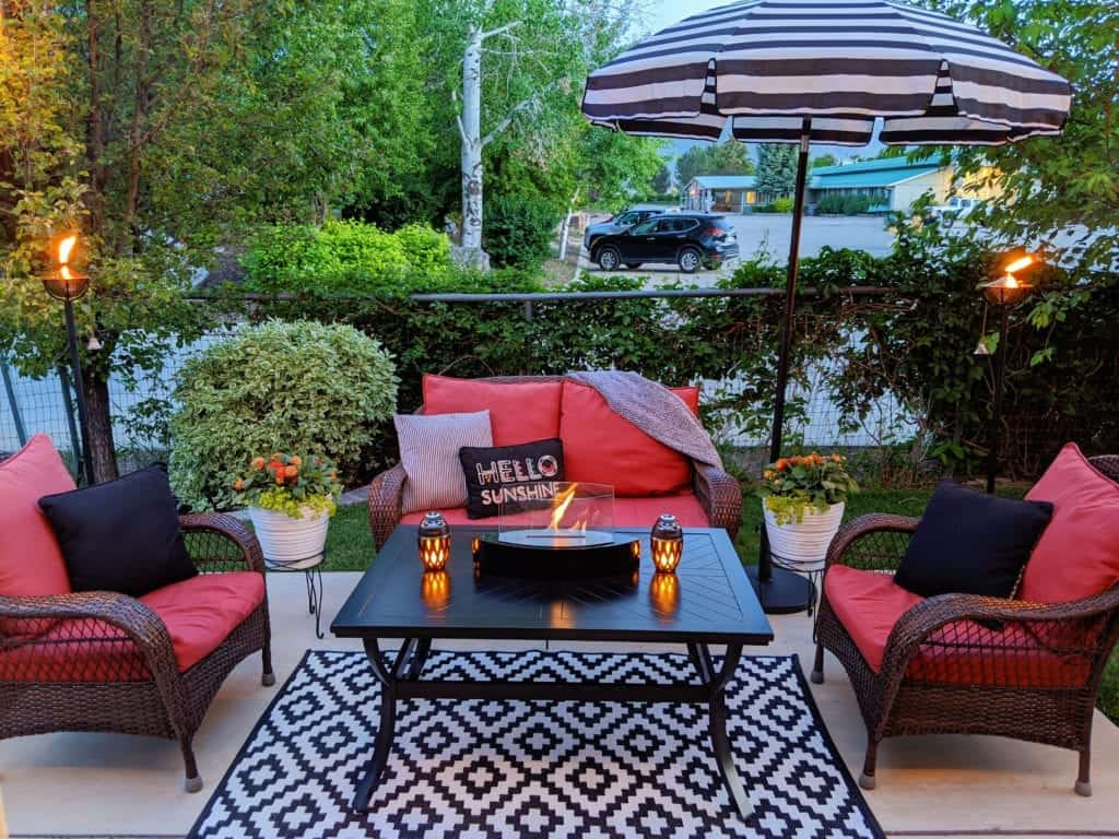 ideas for patio design
