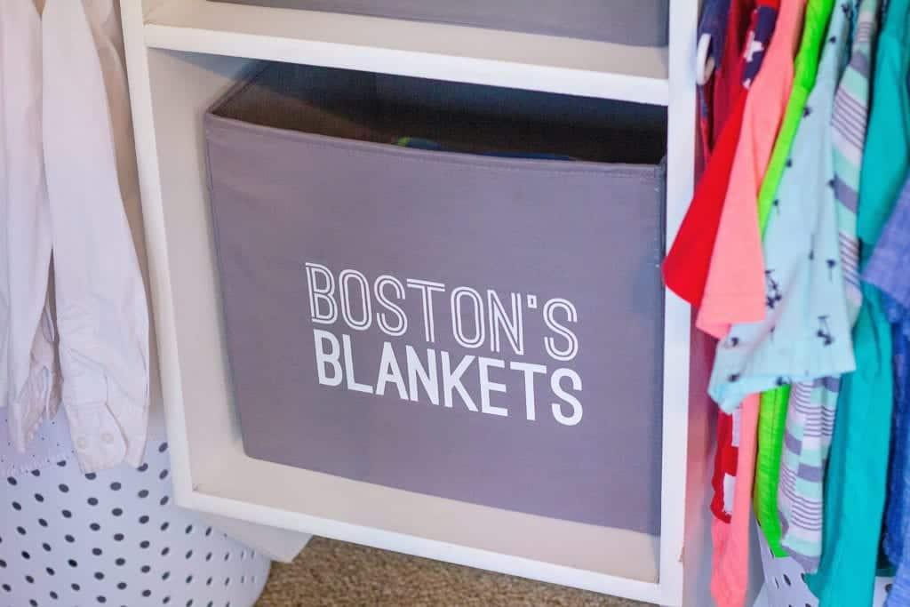closet bin