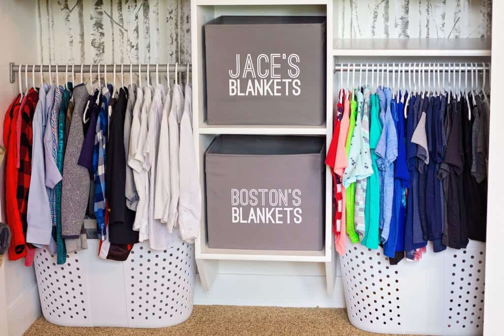 closet organization diy ideas