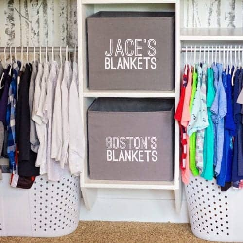 Easy Closet Organization how to Guide
