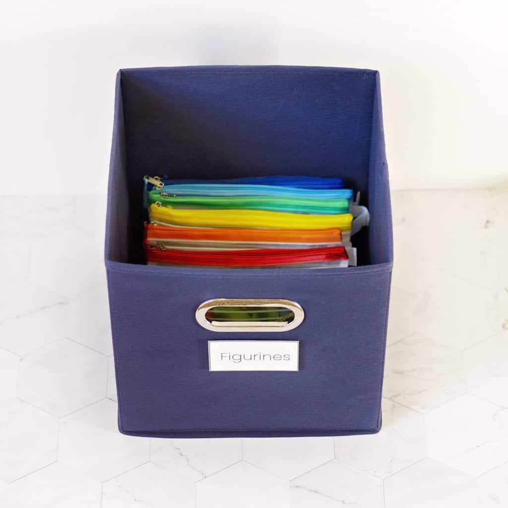 organization ideas for playroom
