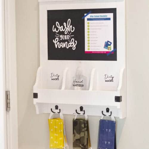 How To Create A Mask Storage System to Keep Your Family Healthy