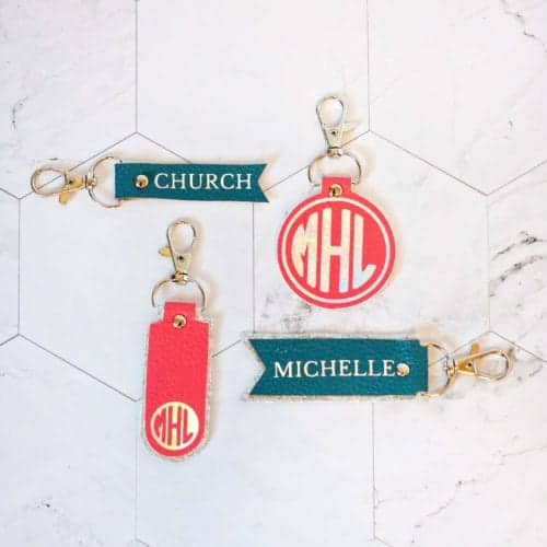11 Easy Steps to Create Beautiful Faux Leather Keychains