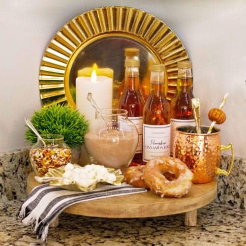 How To Style a Fall Beverage Bar Everyone Will Love