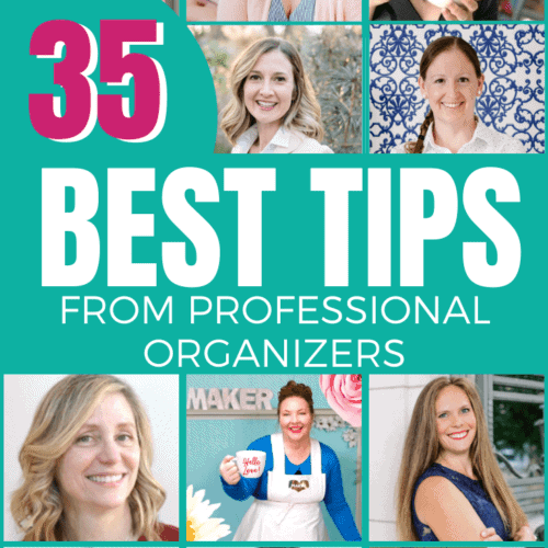 Best Tips From Professional Organizers and Bloggers