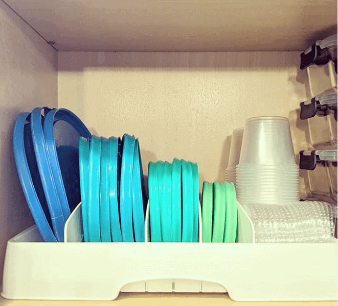 15 Foolproof Ways to Store Tupperware and Food Storage Containers