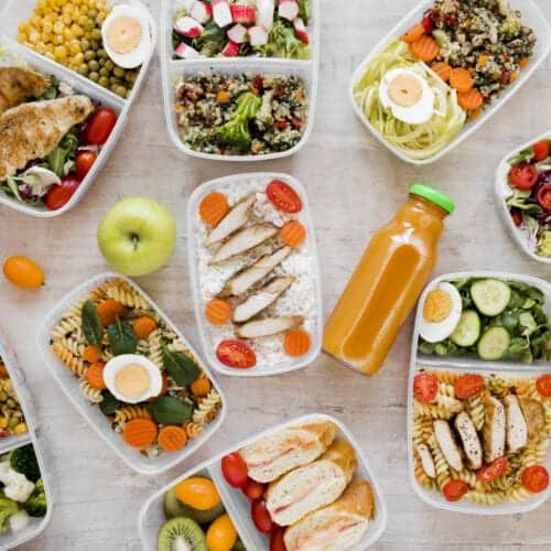 10 Meal Planning Tips + A Meal Plan for the Week template