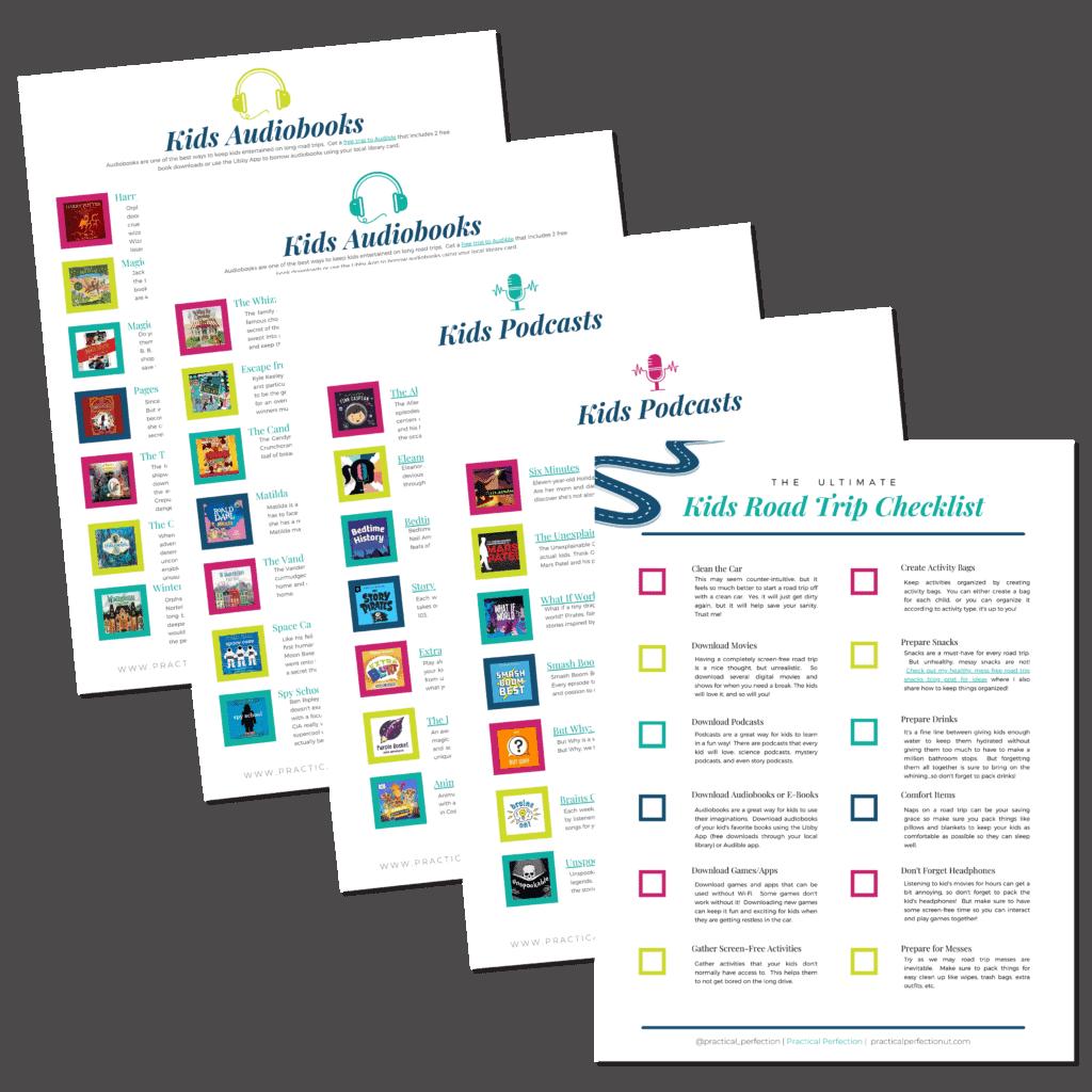 kids activity checklist
