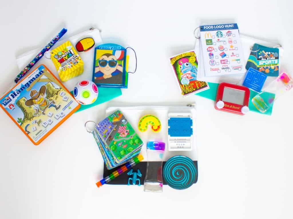 organized activity pouches