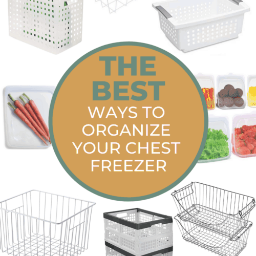 5 Quick Tips to Help You Organize Your Chest Freezer